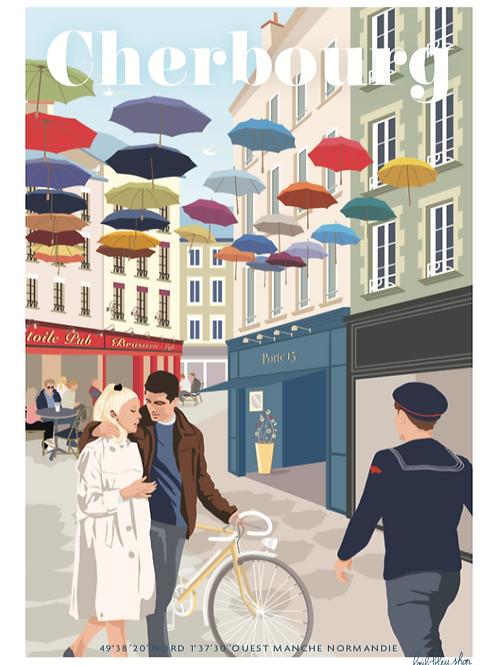 Cherbourg - Rue des portes -  TP52