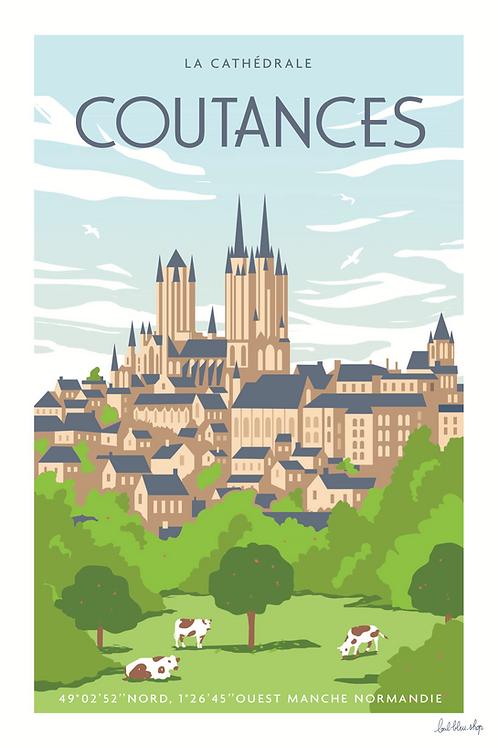 Coutances - la Cathédrale - TP38