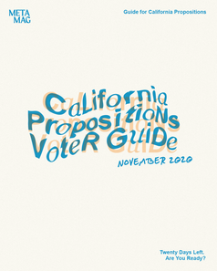 Guide for California Propositions