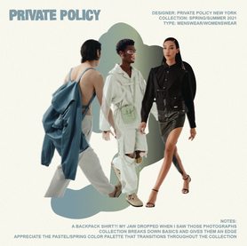 Notes on Private Policy