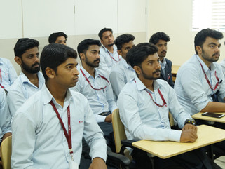 CILT Students from Koshys Institute of Management Studies visit DTDC's Hub in Domlur