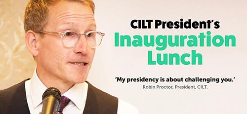 CILT President's Inauguration