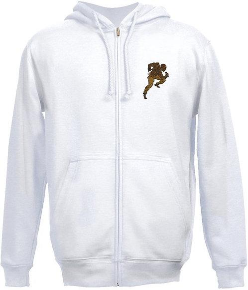 RAS JERZEES Embroidered Hooded Sweatshirt