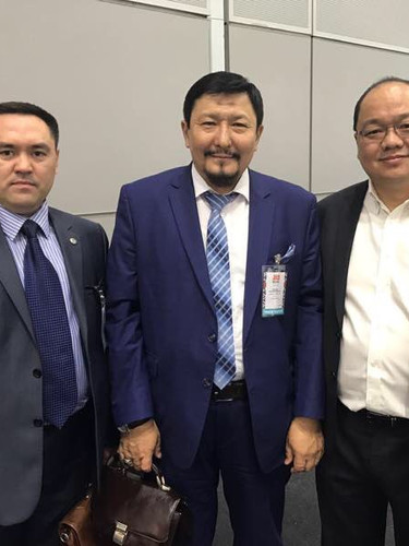 Business Partners from Singapore and Khazakstan