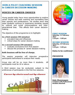 Voices in Career Choice