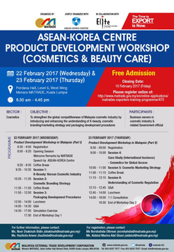 Asean-Korea Center Product Develop