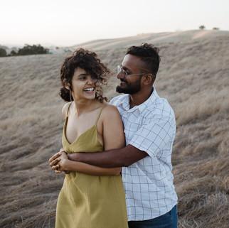 romantic couple's shoot