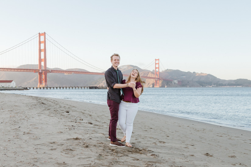 San Francisco proposal photographer, San Francisco couples photographer