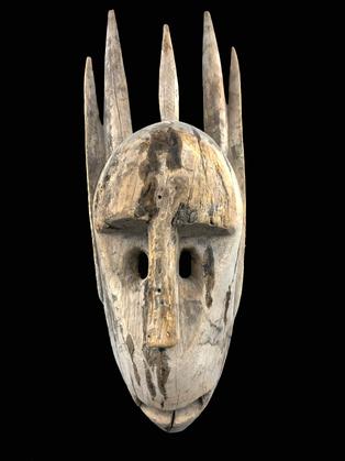 Ntomo Mask, Bamana people, Mali