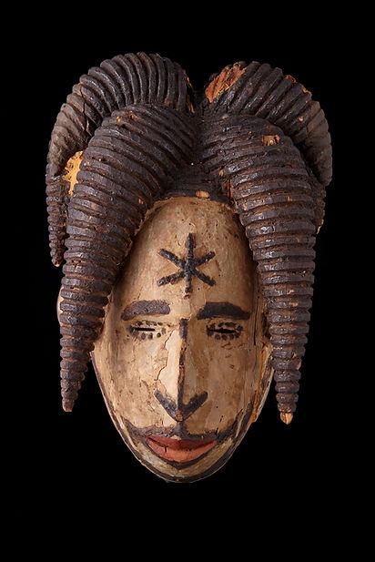 1993 JK 23a Maiden Spirit Mask, Igbo, Ni