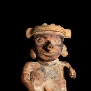 Ceramic figure, Nayarit 2017 JR 81