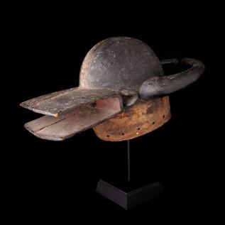Horizontal Helmet Mask, Chamba, Nigeria