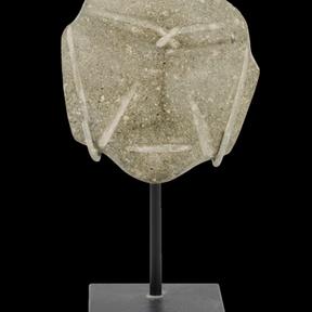 Mexico stone mask, Mexcala, 500 BC - AD 300