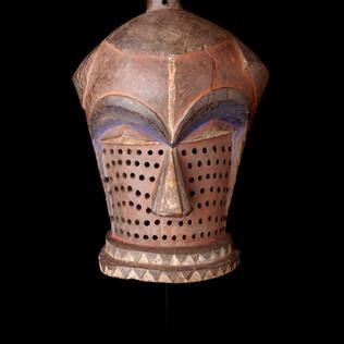 2001 LB 9 Kindombolo mask, E. Pende People
