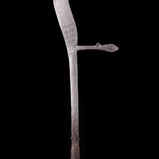 Throwing Knife, Zande, D.R.C.
