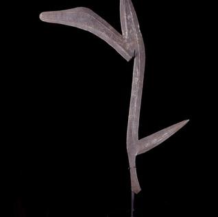 Mbugbu Throwing Knife, Congo