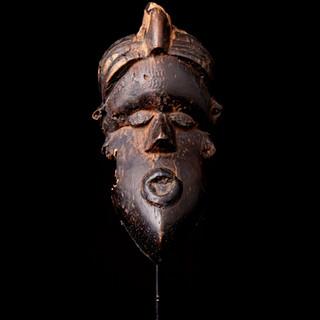 1993 JK 7 B Bassa mask, Dan People