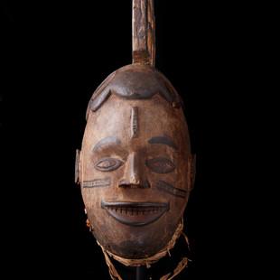 2004 AK 1 Helmet Mask, Igbo, Nigeria