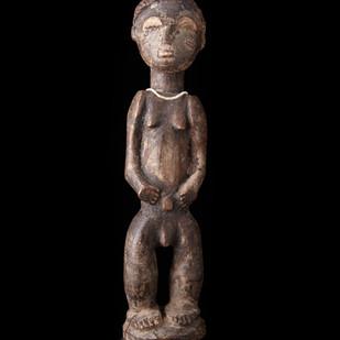 Female figure, Baule 2006 RU 26 2