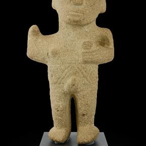 Standing warrior, Costa Rica, 1000 CE to 1500 c.e
