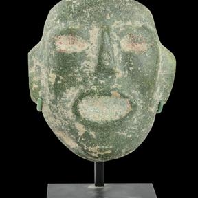 Mask, Mezcala, Mexico, circa 300 BC - AD 300