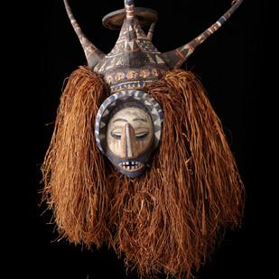 2006 RU 28 Ndeemba Mask, Yaka People