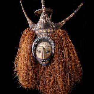 Ndeemba Mask, Yaka People, D.R.C.