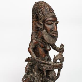 Eshu Figure, Yoruba, Nigeria, wood