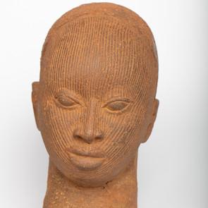 Ife head ceramic