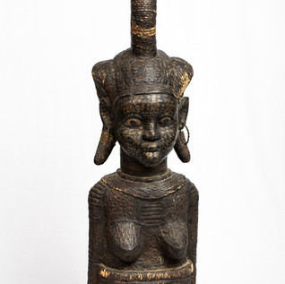 Female Shrine Figure, Cameroon, 20th Century