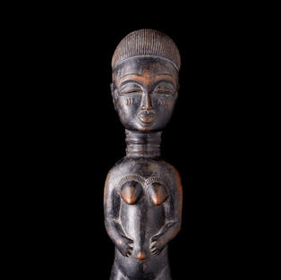 Spirit Spouse, Baule, Ivory Coast, wood.