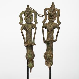 Edan Ogboni, Yoruba, Nigeria, bronze