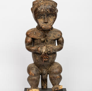 Reliquary Figure, Fang, wood, 19th century.