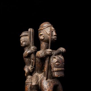 Yoruba cap/helmet