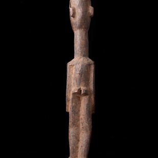Lobi wood standing figure 2003 RU 7 D