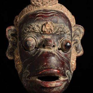 Monkey Mask, Bali, Indonesia