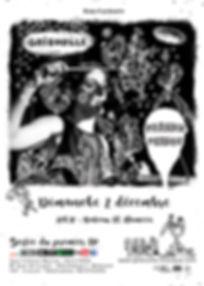 affiche A3 - Gribouille sortie d'album 0