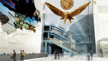 카자흐스탄 아스타나 국립박물관 설계