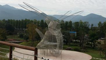 곡성 꼬마잠자리 생태학습관 야외조형물 제작설치