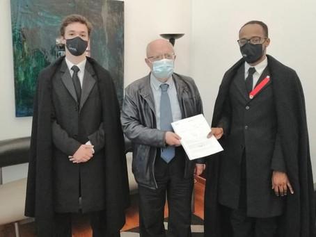 AAUL entrega petição para tornar os campi da Universidade de Lisboa mais seguros.