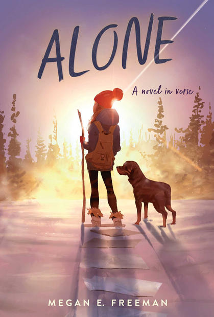 ALONE by Megan E. Freeman - cover art by Pascal Campion.jpg