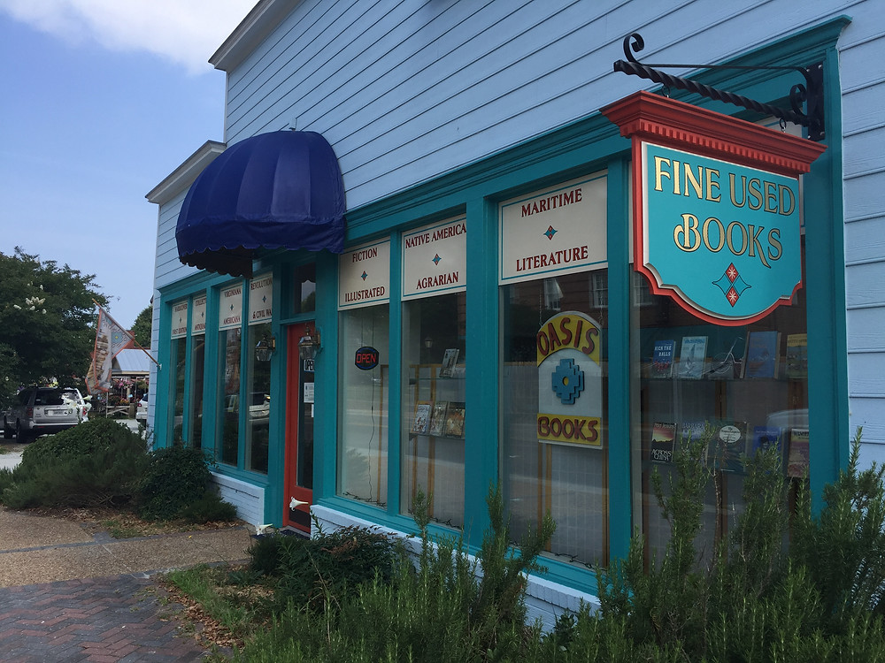 Oasis Books in Gloucester, Virginia