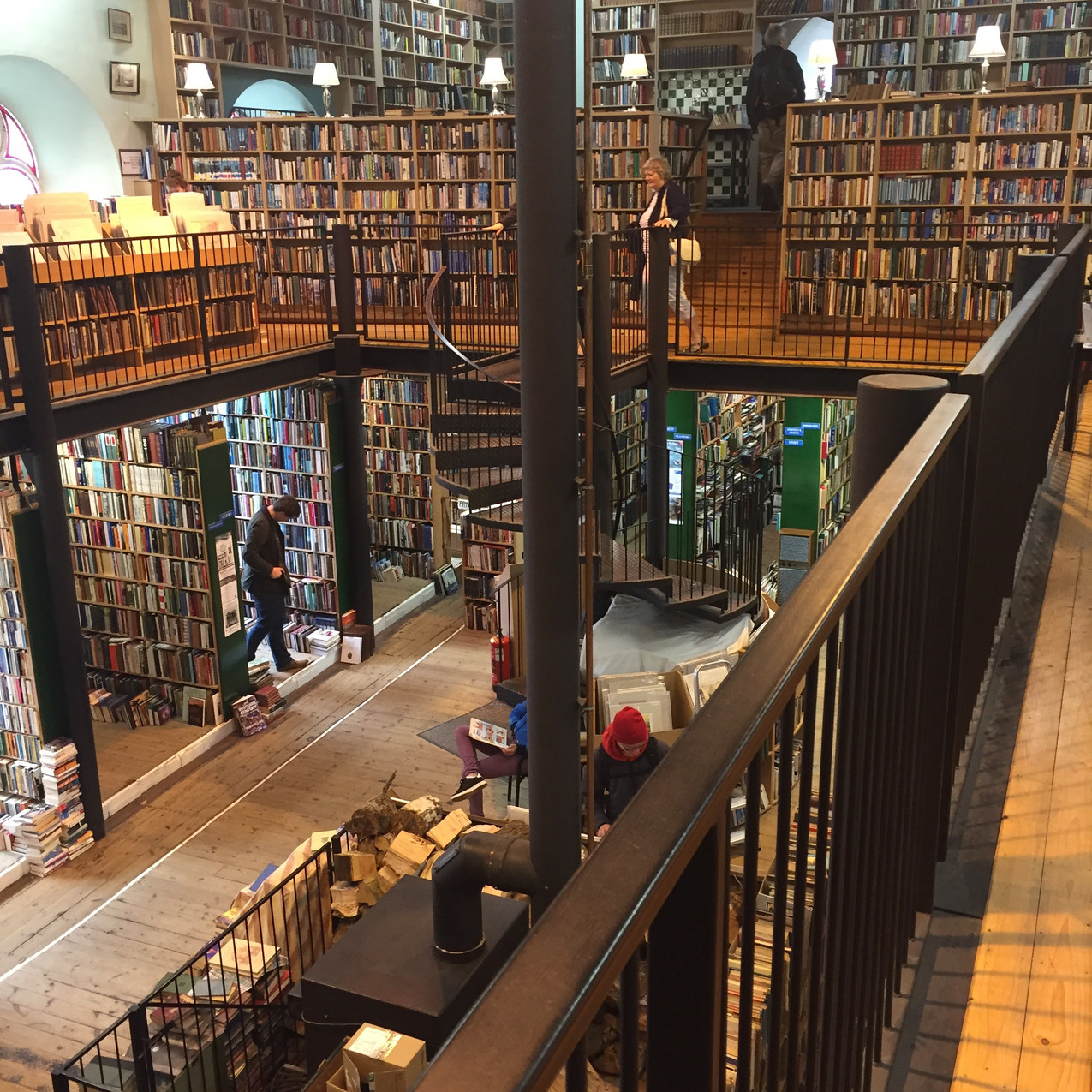 Leakey's Bookshop - Inverness