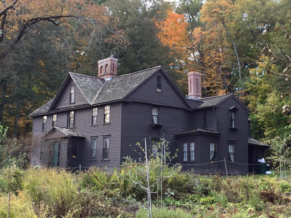 Louisa May Alcott's Orchard House in Concord, MA