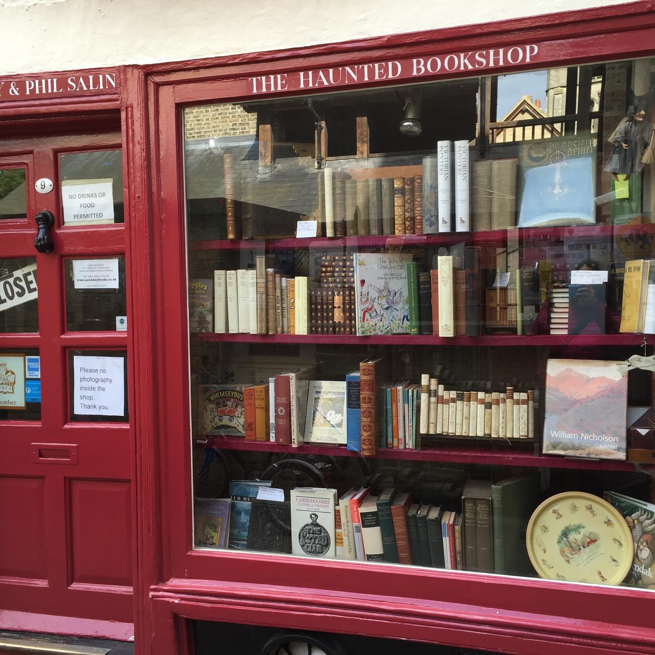 The Haunted Bookshop - Cambridge