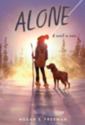 ALONE by Megan E. Freeman Cover Art by Pascal Campion