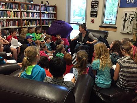 Megan E. Freeman - school visit