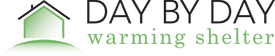 Day By Day Warming Shelter Logo