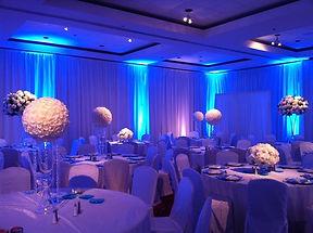 Uplights for weddings