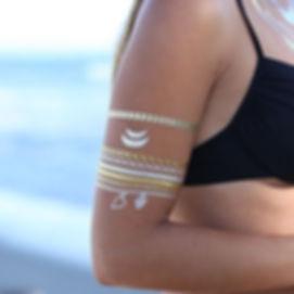 foil tattoo